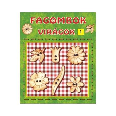 Fagombok - Virágok 1.    (6 db/csomag)