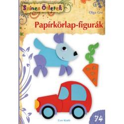 Papírkörlap-figurák - Színes Ötletek 74.