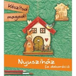 Készítsd Magad! - Nyusziház (fa dekoráció)