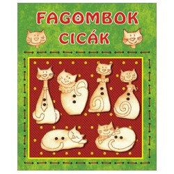 Fagombok - Cicák    (6 db/csomag)