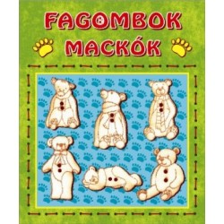 Fagombok - Mackók    (6 db/csomag)