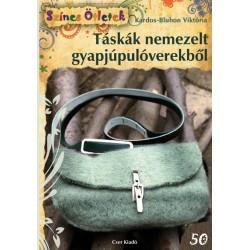 Táskák nemezelt gyapjúpulóverekből - Színes Ötletek 50.