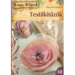Textilkitűzők - Színes Ötletek 58.