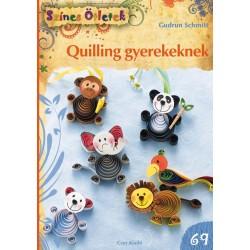 Quilling gyerekeknek - Színes Ötletek 69.