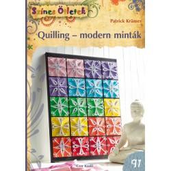Quilling - modern minták - Színes Ötletek 91.