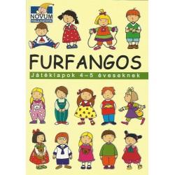 Furfangos játéklapok 4-5 éveseknek